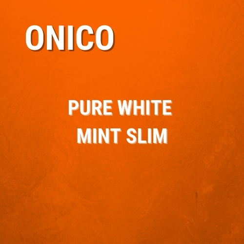 Onico Pure White Slim Mint Portion